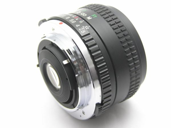 ★ハロ-カメラ★5688 OLYMPUS OM用 COSINA(24mm F2.8 MC MACRO) 多少の難有り動作品_画像8