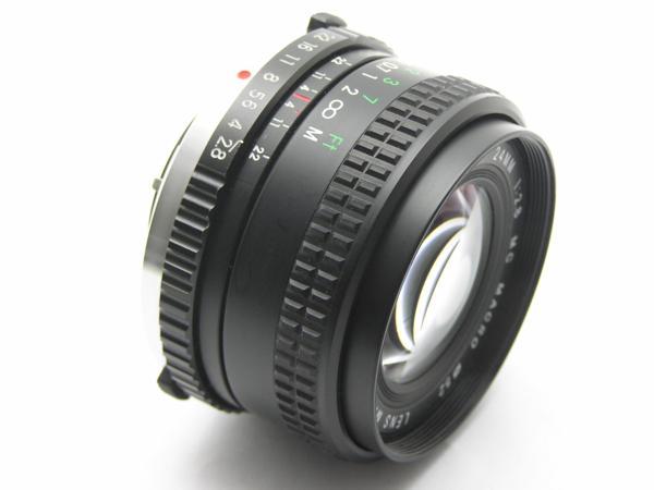 ★ハロ-カメラ★5688 OLYMPUS OM用 COSINA(24mm F2.8 MC MACRO) 多少の難有り動作品_画像2