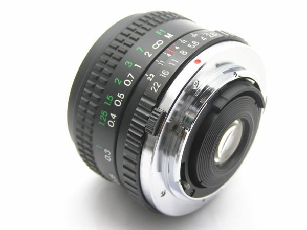 ★ハロ-カメラ★5688 OLYMPUS OM用 COSINA(24mm F2.8 MC MACRO) 多少の難有り動作品_画像9