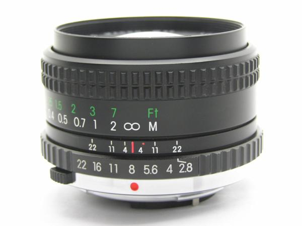 ★ハロ-カメラ★5688 OLYMPUS OM用 COSINA(24mm F2.8 MC MACRO) 多少の難有り動作品_画像4