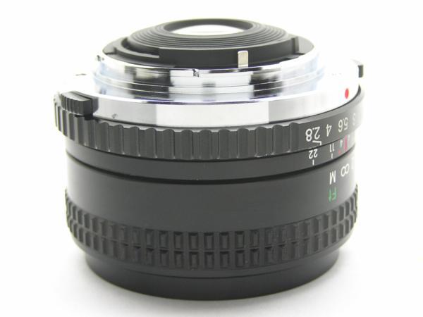 ★ハロ-カメラ★5688 OLYMPUS OM用 COSINA(24mm F2.8 MC MACRO) 多少の難有り動作品_画像5