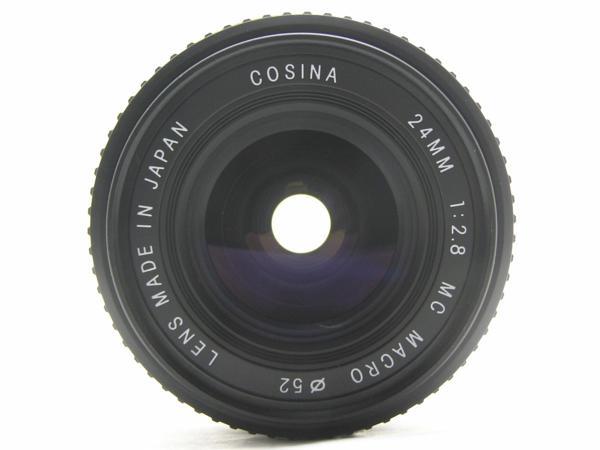 ★ハロ-カメラ★5688 OLYMPUS OM用 COSINA(24mm F2.8 MC MACRO) 多少の難有り動作品_画像3