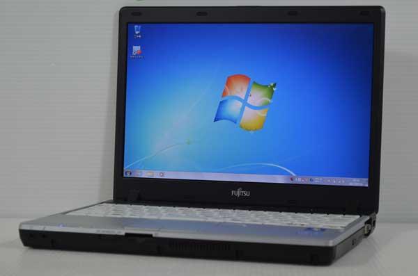 31W7 富士通 LIFEBOOK P771/D Core i5 2520M 2.50GHz 2GB SSD 128GB windows 7 Professional 64bit WiFi DtoDリカバリ ディスク作成可能