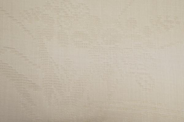 特選新品本麻紋紗白色地流水花模様長襦袢反物[G10398]_新品本麻紋紗白色地流水花模様長襦袢反物