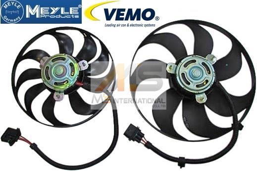 【M's】VW ルポ ポロ ニュービートル/ラジエーター 電動ファン 大 小 SET//6X0959455C 1C0959455C_画像1