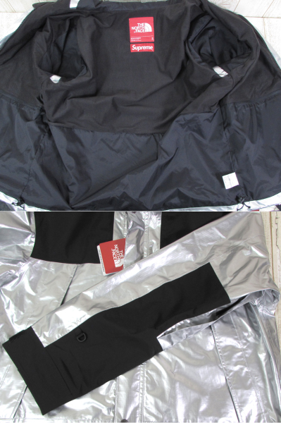 128BH SUPREME × THE NORTH FACE 18SS METALLIC MOUNTAIN JACKET NP11801【中古】_画像4