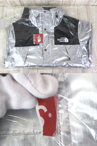 128BH SUPREME × THE NORTH FACE 18SS METALLIC MOUNTAIN JACKET NP11801【中古】_画像9