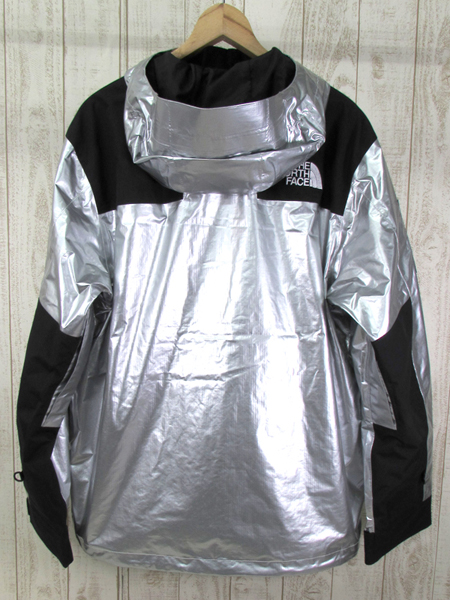 128BH SUPREME × THE NORTH FACE 18SS METALLIC MOUNTAIN JACKET NP11801【中古】_画像2