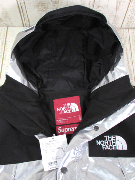 128BH SUPREME × THE NORTH FACE 18SS METALLIC MOUNTAIN JACKET NP11801【中古】_画像3