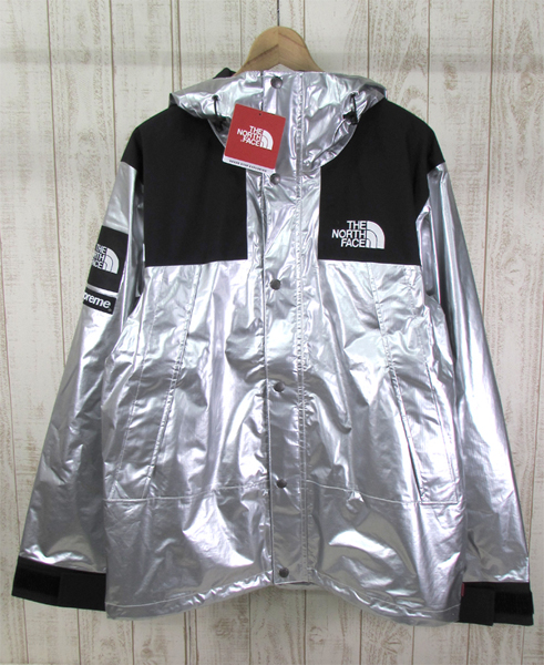 128BH SUPREME × THE NORTH FACE 18SS METALLIC MOUNTAIN JACKET NP11801【中古】_画像1
