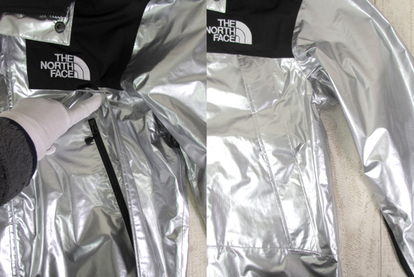 128BH SUPREME × THE NORTH FACE 18SS METALLIC MOUNTAIN JACKET NP11801【中古】_画像7