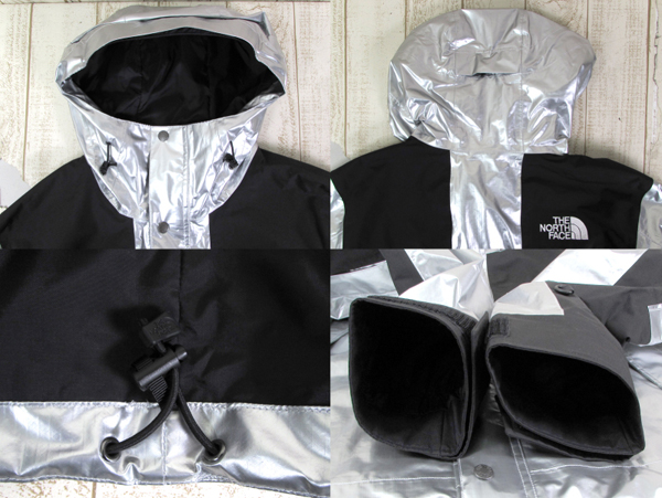 128BH SUPREME × THE NORTH FACE 18SS METALLIC MOUNTAIN JACKET NP11801【中古】_画像6