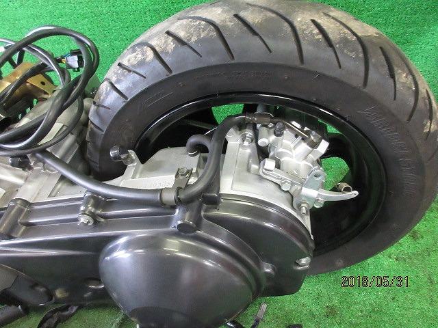 エプシロン(CJ43B)純正実働エンジン、好調!距離5331㎞☆スロットル、クリーナー、ハンガー電装系セット☆スカイウェーブ250(CJ43A)_画像5