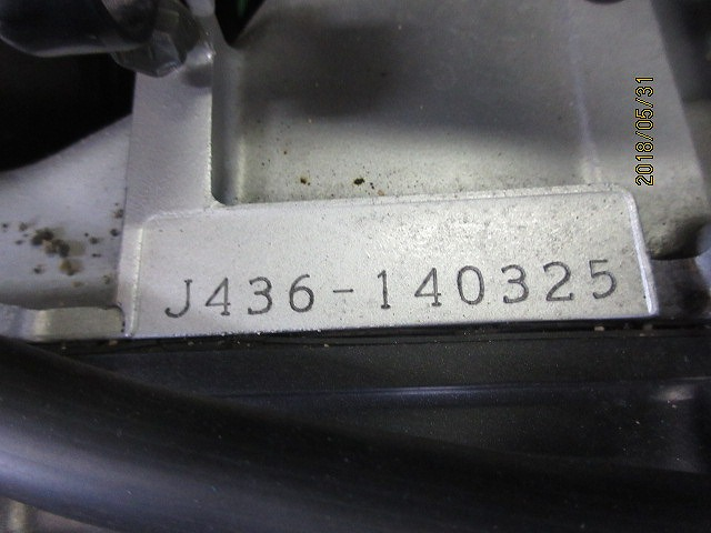 エプシロン(CJ43B)純正実働エンジン、好調!距離5331㎞☆スロットル、クリーナー、ハンガー電装系セット☆スカイウェーブ250(CJ43A)_画像6