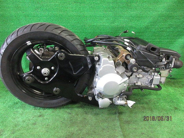 エプシロン(CJ43B)純正実働エンジン、好調!距離5331㎞☆スロットル、クリーナー、ハンガー電装系セット☆スカイウェーブ250(CJ43A)_画像8