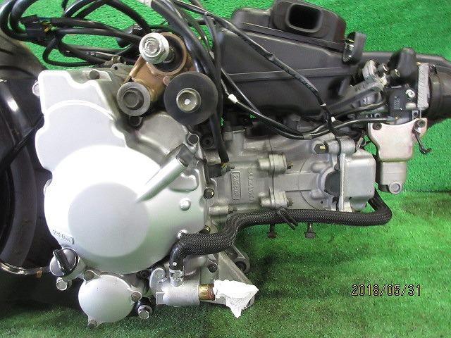 エプシロン(CJ43B)純正実働エンジン、好調!距離5331㎞☆スロットル、クリーナー、ハンガー電装系セット☆スカイウェーブ250(CJ43A)_画像10