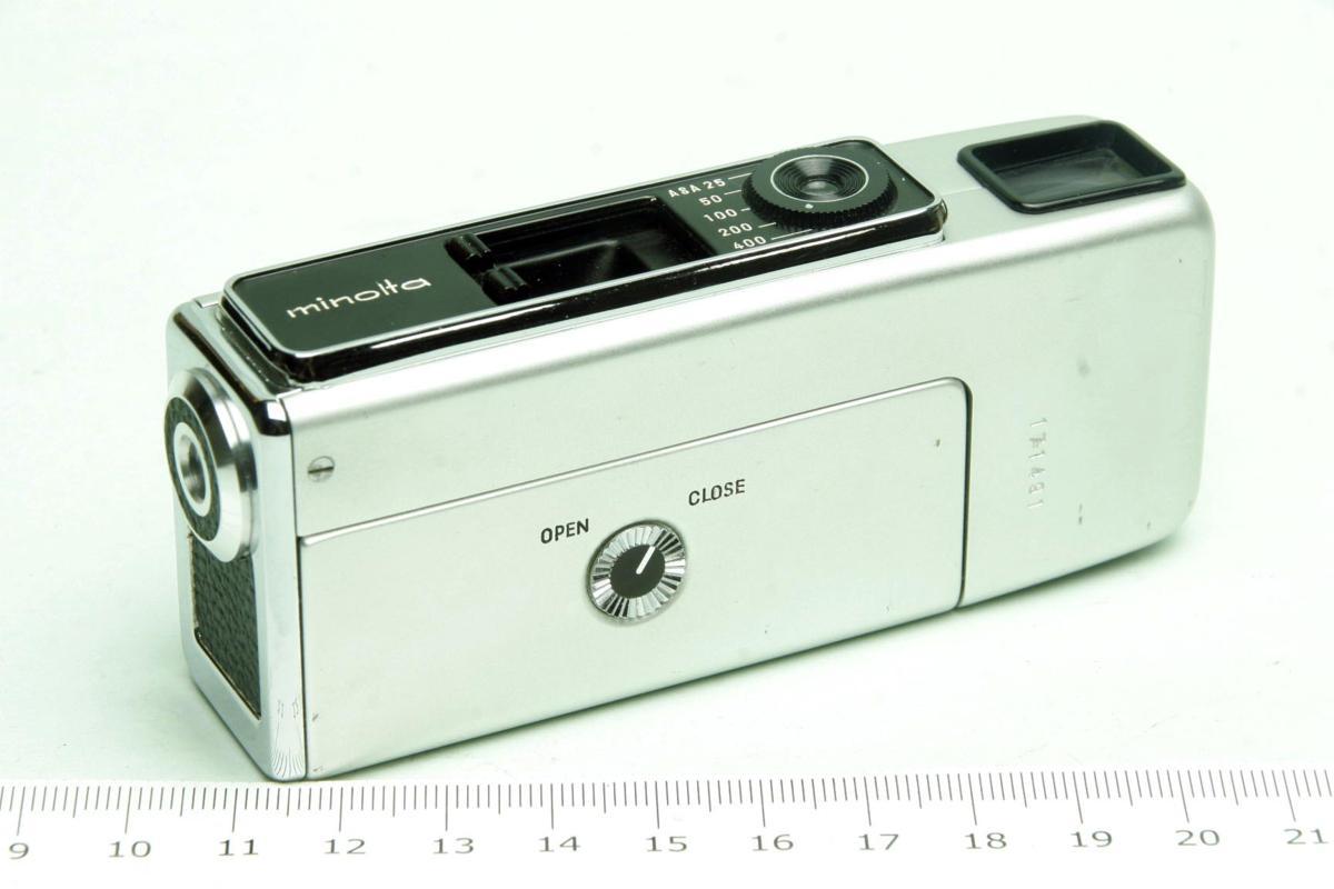 ※ ショーケース内展示品 レア コンパクトカメラ ミノルタ 16 MG-S 16MG S 23mm ロッコール ケース付 sa6322_画像4