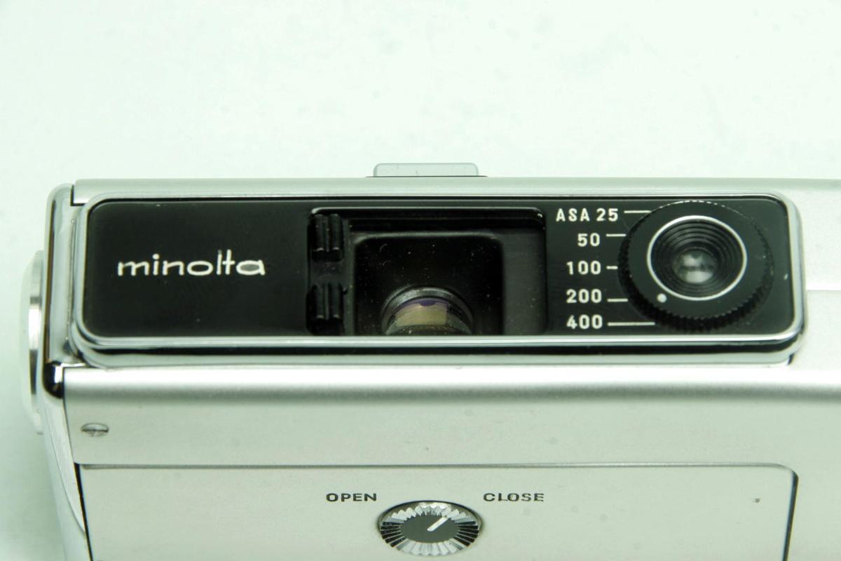 ※ ショーケース内展示品 レア コンパクトカメラ ミノルタ 16 MG-S 16MG S 23mm ロッコール ケース付 sa6322_画像5