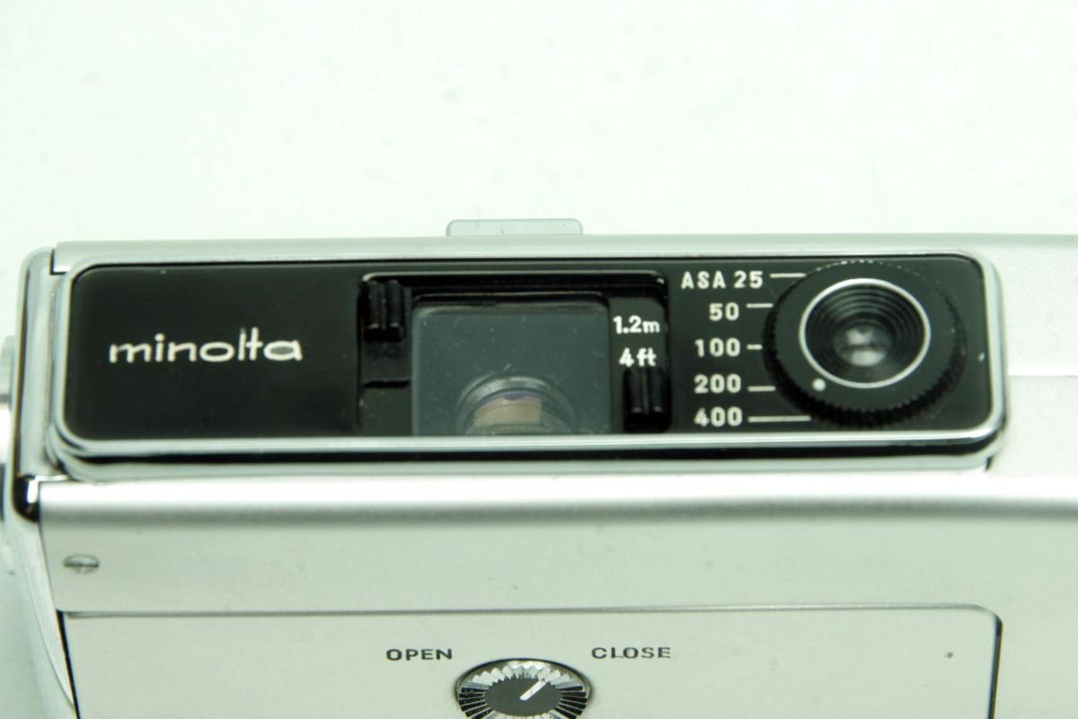 ※ ショーケース内展示品 レア コンパクトカメラ ミノルタ 16 MG-S 16MG S 23mm ロッコール ケース付 sa6322_画像6