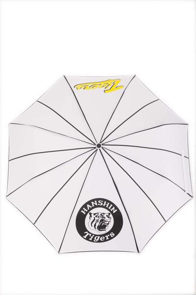 ★阪神タイガースロゴ入り折たたみ傘ケース付 お徳用 3本セット_阪神タイガースロゴ入り折りたたみ傘