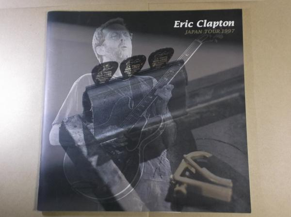 エリック・クラプトン ジャパンツアー パンフ 1997年
