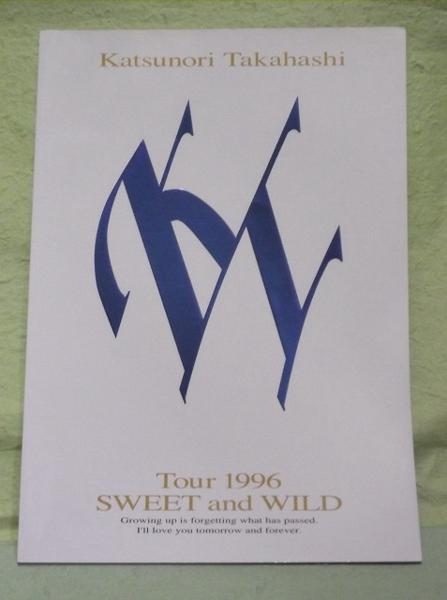 高橋克典 コンサートパンフ 1996年
