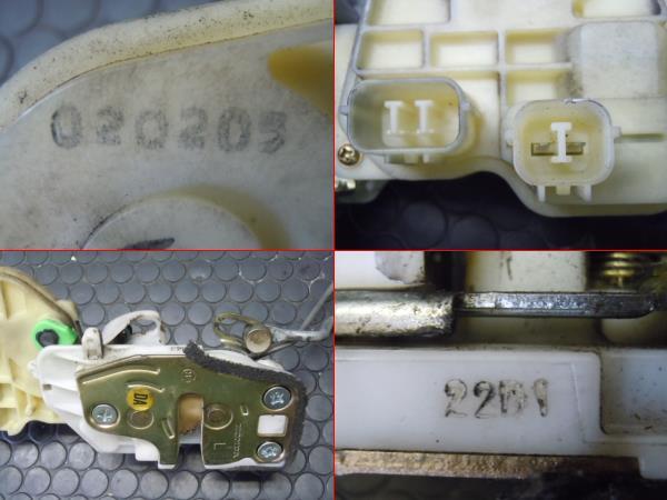 モビリオ GB1 左前ドアロックモーターアクチュエーター No.Z990_画像2
