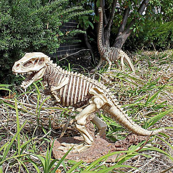 ティラノサウルス 大型恐竜骨格 ガーデン置物 インテリア_画像1