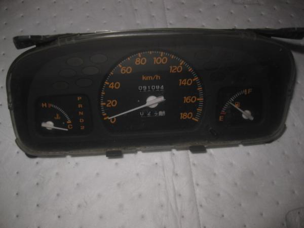 【35397】 GA3 ロゴ スピードメーター 91084 km 棚2_画像1