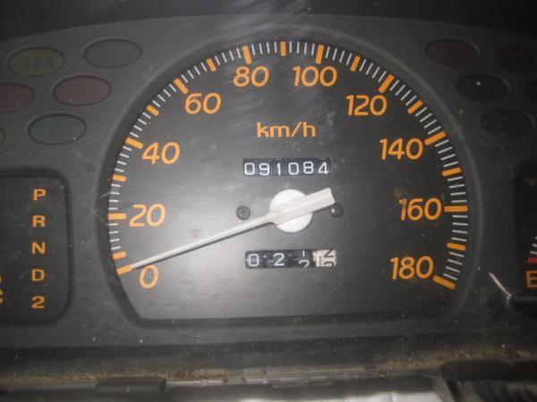 【35397】 GA3 ロゴ スピードメーター 91084 km 棚2_画像3