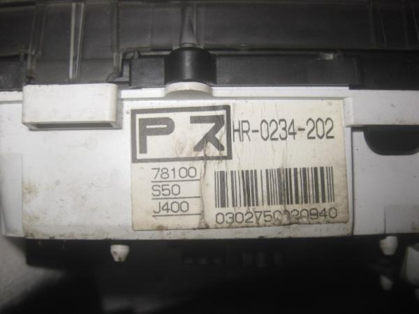 【35397】 GA3 ロゴ スピードメーター 91084 km 棚2_画像2