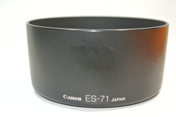 Canon ES-71 プラスチックフード キヤノン[管P233]