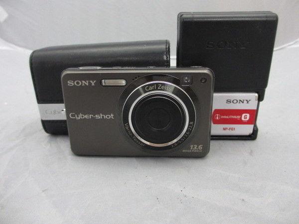 [美品1円] SONY デジタルカメラ Cyber-Shot DSC-W300 デジタルスチルカメラ 1360万画素 ケース付