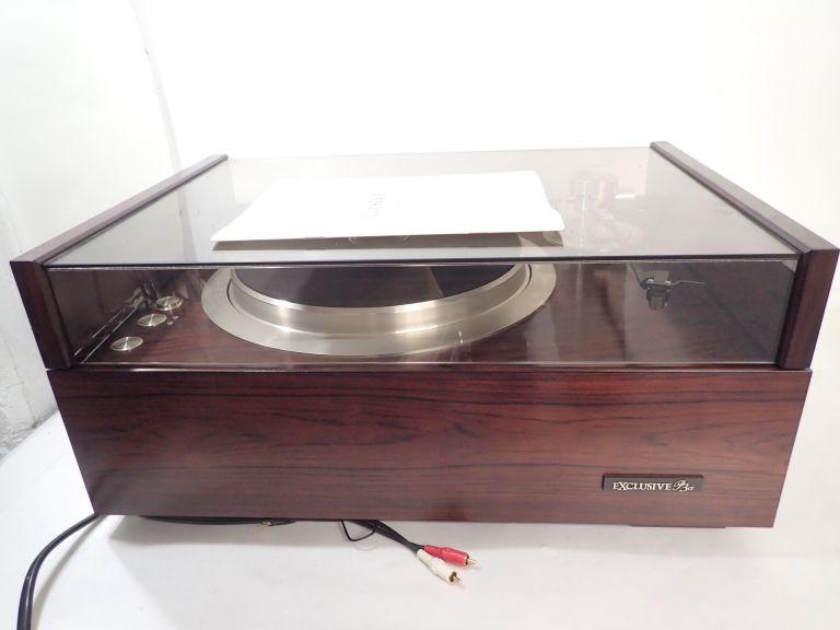 希少良品 Pioneer レコードプレーヤー EXCLUSIVE P3a + DENON カートリッジ DL-1000A 配
