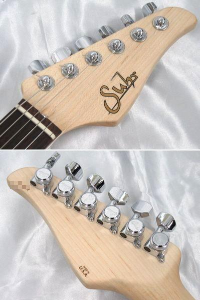 58030★1円 美品 Suhr Guitars/サー エレキギター Standard Pro S1 3Tone Burst/USA製/純正ギグケース付_画像4
