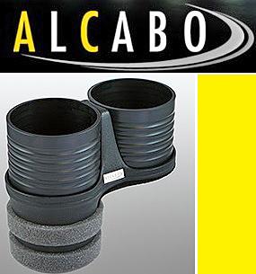【M's】VW ニュービートル(1998y-2010y)//ポロ 6R 5代目 リア用(2009y-)アルカボ 高級 ドリンクホルダー(ブラック)//ALCABO AL-B109B_画像1
