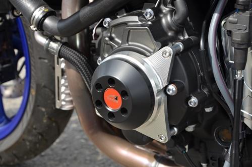 MT-10(SP) 17~ レーシングスライダー 4点セット! フレームタイプ左右+クランクタイプ+ジェネレータータイプ AGRAS(アグラス)_ジェネレータータイプと