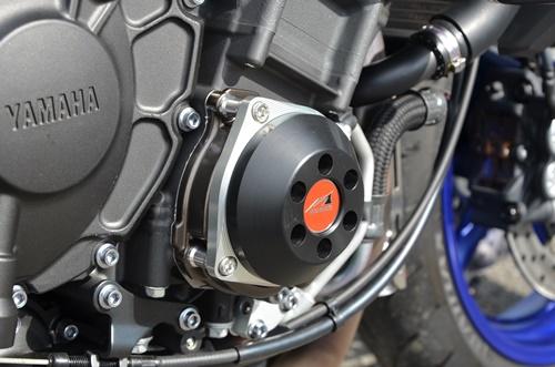 MT-10(SP) 17~ レーシングスライダー 4点セット! フレームタイプ左右+クランクタイプ+ジェネレータータイプ AGRAS(アグラス)_クランクタイプと
