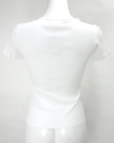 アナイ ANAYI 白 半袖 カットソー 38_画像3