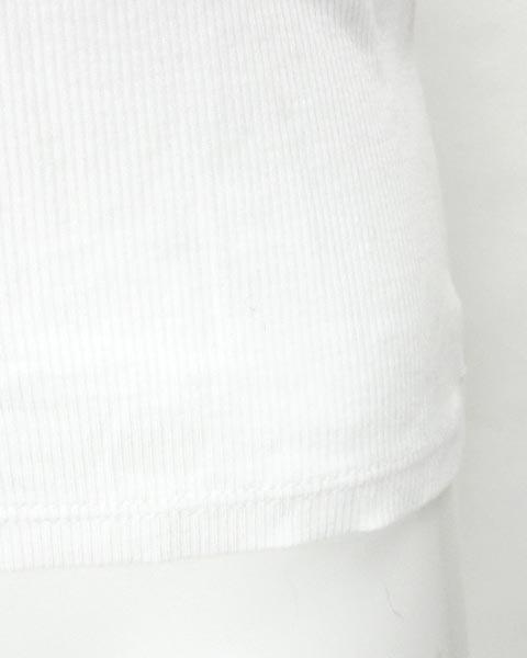 アナイ ANAYI 白 半袖 カットソー 38_画像7