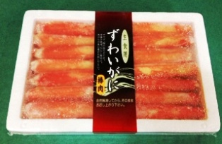 超旨!≪ズワイガニの棒肉/むき身≫たっぷりの400g入(税込)_ボイルズワイガニ棒肉400g入りパック