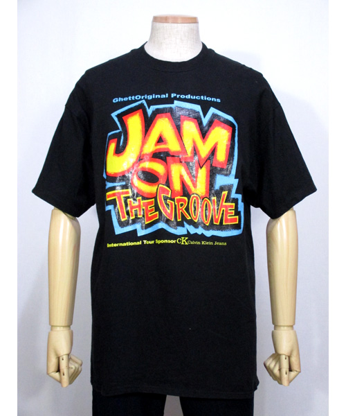 Jam on the Groove舞台ミュージカルHIP HOPプリントTシャツ90s