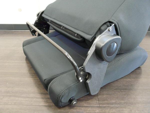 レカロ SRⅢ?タイプ リクライニングシート セミバケ ブラック レッド ブルー RS5_画像3