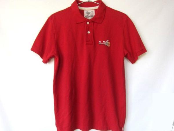 ウッドストックWoodStockポロシャツ赤M