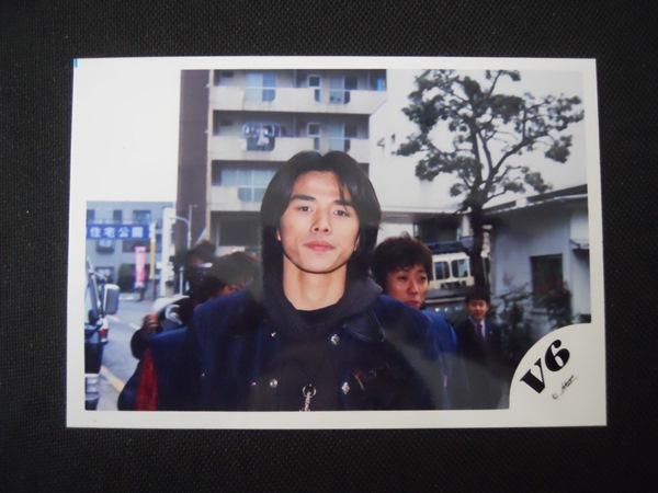 V6 井ノ原快彦 ジャニーズ 公式写真 V6ロゴ レア