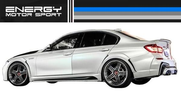 【M's】 BMW 3シリーズ F30 エアロ 4点set FRP+カーボン ENERGY_画像3
