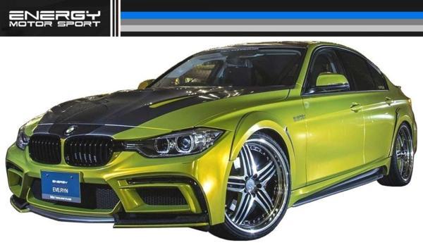 【M's】 BMW 3シリーズ F30 エアロ 4点set FRP+カーボン ENERGY_画像4
