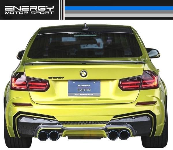 【M's】 BMW 3シリーズ F30 エアロ 4点set FRP+カーボン ENERGY_画像7
