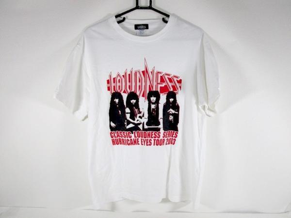 A☆5367☆LOUDNESS ラウドネス HURRICANE EYES TOUR 2013 Tシャツ Lサイズ