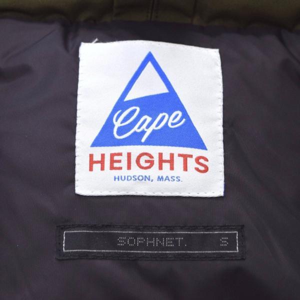 【16AW】SOPH.×Cape HEIGHTS ソフネット BRIGHTWOOD SOPHNET. EDITION ブライトウッド ダウンジャケット カーキ S ケープハイツ_画像3
